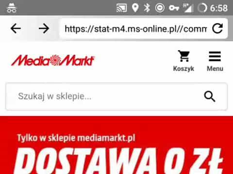 Polish test on mobile